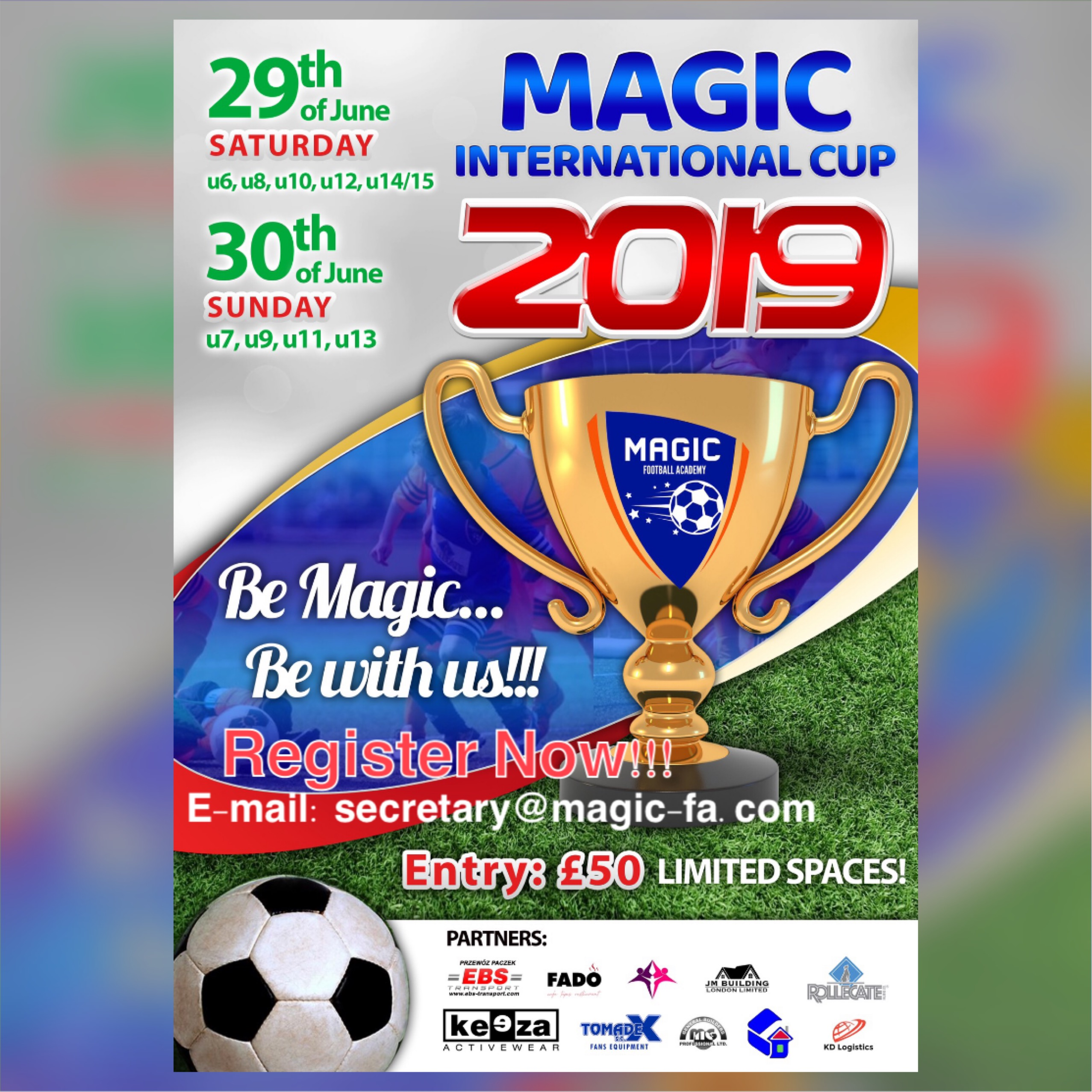 2. Magic International Cup 2109 - poster